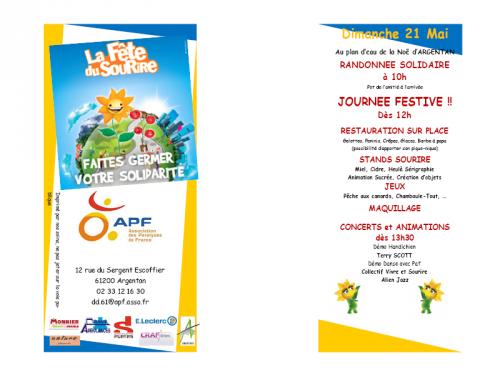 Programme, Fête du Sourire, 2017