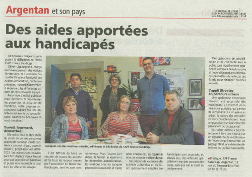 article journal de l'orne 14 novembre 2019.PNG
